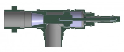Piston valve section V2